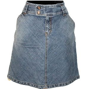 Gap Fall 04 Stretch Jeans Skirt Size 10